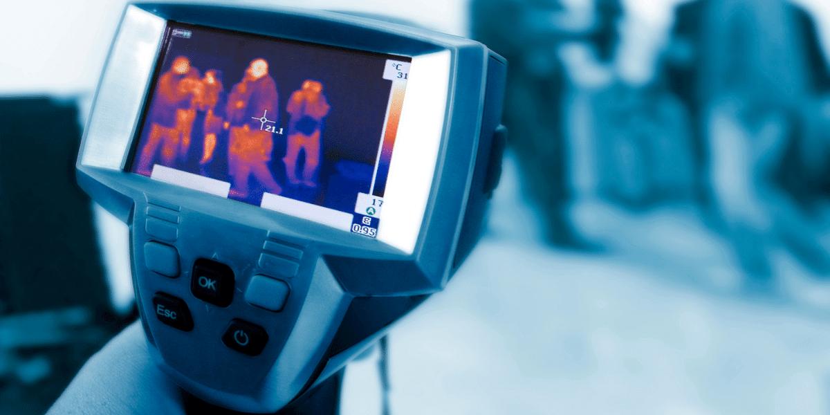 O que é a câmera térmica?